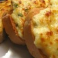 Tasty Bread with Garlic and Cheese